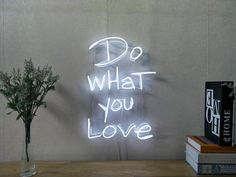 Do What You Love Dimmable LED Neon Signs for Wall Decor (Customization Options: Color, Size, Dimming, Wall Mounted, Desk Neon Sign Bedroom, Bedroom Decor, Wall Decor, Neon Lights Bedroom, Neon Signs Home, Custom Neon Signs, Neon Light Signs, Led Neon Signs, Neon Signs Quotes