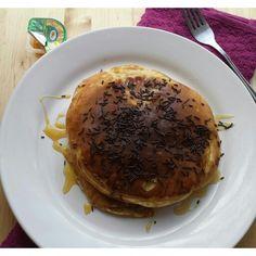 Simple pancakes for breakfast