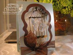 Butterfly tent card | par Bibianas Cards-r-recherche google