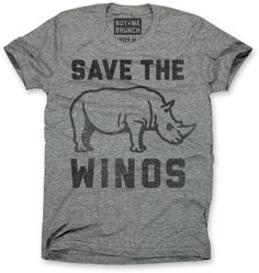 Save the Winos Tee Grey – Buy Me Brunch