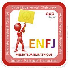 Sentiment Extraverti avec Intuition Introvertie Type MBTI ENFJ