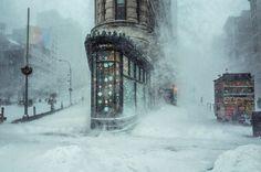 Esta Fotografia De Uma Tempestade De Inverno Em Nova York Parece Uma Pintura Impressionista