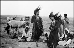 Inge Morath © The Inge Morath Foundation  IRAQ. 1956. Gypsies dancing in a camp near Catesiphon.