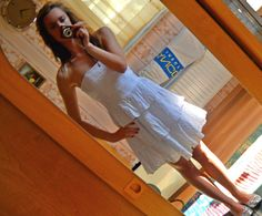 little white dress ;D
