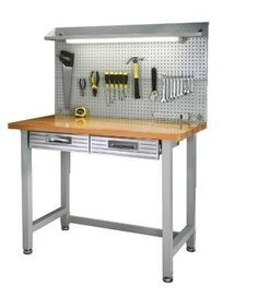 How To Build The Perfect Garage Workbench