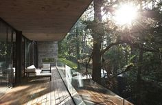 A Modern Take on the Treehouse