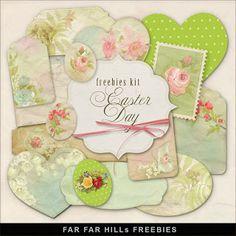 Sunday's Guest Digital Scrapbook Freebies ~ Far Far Hill ♥♥Join 3,600 people. Follow our Free Digital Scrapbook Board. New Freebies every day.♥♥
