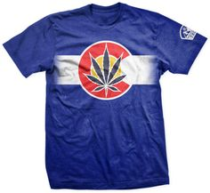 Hey, I found this really awesome Etsy listing at https://www.etsy.com/listing/175594599/weed-t-shirt-colorado-marijuana-flag-by