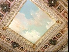 Image detail for -ceiling mural at the breakers