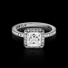 The most bling we could fit in one ring. Orbis features a show stopping centre stone, surrounded by full cut diamonds, resting on a full diamond band. Diamond Bands, Diamond Cuts, Orbis, One Ring, Rolex Watches, Wedding Bands, Take That, Bling, Engagement Rings