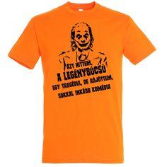 Joker legénybúcsú póló több színben Joker, Mens Tops, T Shirt, Fashion, Moda, Tee Shirt, Fashion Styles, The Joker, Fashion Illustrations