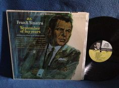 Vintage Frank Sinatra  September Of My Years by sweetleafvinyl
