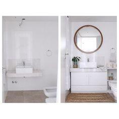 > ANTES Y DESPUÉS <  Proyecto Beruti - Asesoramiento integral de espacios por Apatheia  #apatheia #espacios #antesydespues #asesoramientos #baño #bath #decoracion