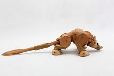 Omnio Buzu - The Bamboo toys project by Tjoret , via Behance
