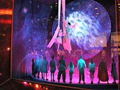 "Bloomingdale's ""Cirque du Soleil: Worlds Away"" Holiday Window Display 2012"