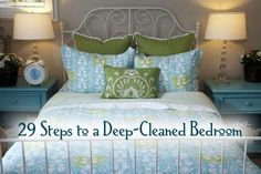 29 Steps to a Deep-Cleaned Bedroom