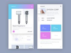 New ecommerce mobile app.  Thanks for watching.   P.S. Don't forget to check out the full view in the attachment :)