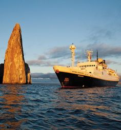 Honeymoon cruise through the Galapagos. Included but not shown: swimming with sea lions. Second honeymoon?
