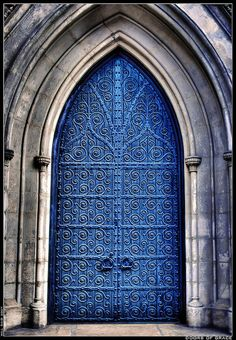 Doors of Grace. New York City Cool Doors, The Doors, Unique Doors, Windows And Doors, Grand Entrance, Entrance Doors, Doorway, Portal, Door Knockers