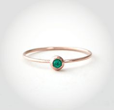 Blanca Monros Gomez emerald seed ring, $195stevenalan.com - Photo: Courtesy of Steven Alan