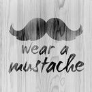 Must Staches Collection on Society6.