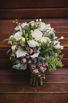 Australiana wedding bouquet