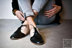 3. #Casually - 7 Tips on How to Stylishly Wear #Brogues for Women ... → Shoes #Shoes