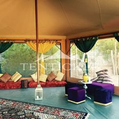Luxury, comfort, reliability and sustainability in nature - only with a Tentickle Safari Tent.