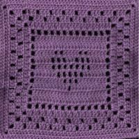 "Heart Gone Meshy Square 12""hx12""w (2 images) - Free Original Patterns - Crochetville"