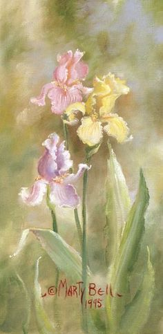 Marty Bell In  honor of my dear departed friend Leah Buxton Thomas Who raised the most beautiful Iris I ever seen! still miss you Leah!