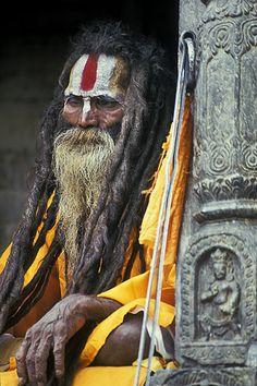 sādhu, pashipotinat temple, nepal