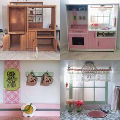 Kid Kitchens Upgrading Kitchen Countertops 26 Best Kids Wooden Play Images Diy From Entertainment Center This Has To Be One Of The Cutest Ones