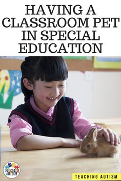 Are you thinking about getting a classroom pet for your special education or autism classroom? Are you wondering what pet to get? What the benefits are? If so, this blog post is full of helpful information. #ClassroomPet #SpecialEducation #AutismClassroom