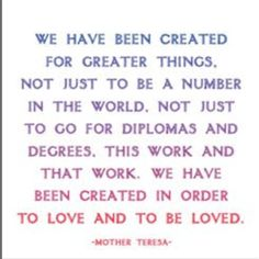 mother teresa, a good thing to remember from a good woman. Words Quotes, Wise Words, Me Quotes, Great Quotes, Quotes To Live By, Inspirational Quotes, Quirky Quotes, Motivational, Mother Teresa Quotes