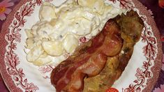 Pork Recipes Neck steaks on the plate, a delicious recipe from the party category. Parmesan Roasted Cauliflower, Cauliflower Recipes, Pork Recipes, Cooking Recipes, Tasty Videos, Party Buffet, Bacon, Food And Drink, Yummy Food