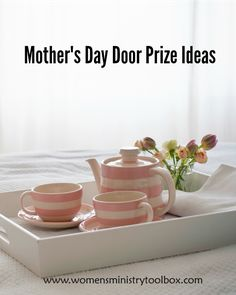 Check out these fabulous gift and door prize ideas for $10 or less! Perfect for your Mother's Day event, Women's Ministry fellowship, MOPS, or Small group.
