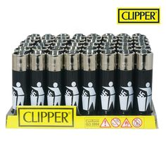 Boite de 48 briquets Clipper Trash