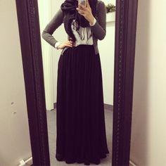 Hijabi Style #hijab #fashion