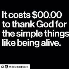 WEBSTA @ chinarabutler - #ThankGod For Being #Alive then #riseandgrind