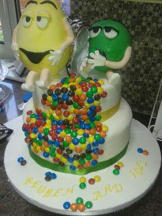 Boys 13th birthday cake