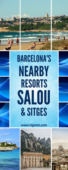 Barcelona getaway is a great idea to spend a week. If you are looking for beach holiday, nearby resorts Sitges or Salou are perfect!
