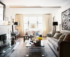 Living Room design ideas and photos to inspire your next home decor project or remodel. Check out Living Room photo galleries full of ideas for your home, apartment or office. Living Room Photos, My Living Room, Home And Living, Living Room Decor, Living Spaces, Modern Living, Inspiration Design, Room Inspiration, Basement Inspiration