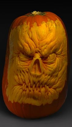 ☆ Scary Pumpkin Carving :¦: By Artist Ray Villafane ☆