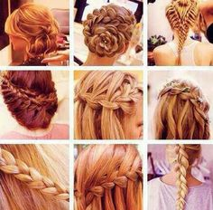 Braid my hair!!!!!!!! :-)