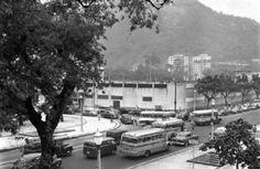 Estádio do Botafogo. 1961. Hoje o espaço abriga o shopping Casa & Gourmet e o clube do Botafogo em cima.