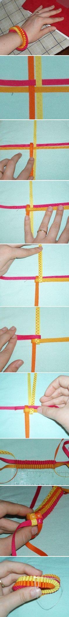 DIY Quick Tape Bracelet