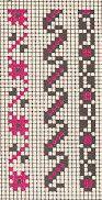 Cross Stitch Bookmarks, Mini Cross Stitch, Cross Stitch Borders, Cross Stitch Designs, Cross Stitching, Cross Stitch Embroidery, Cross Stitch Patterns, Crochet Blanket Patterns, Baby Blanket Crochet