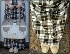 blog vitrine @ugust@ LOOKS | por leila diniz: Vestido longo xadrez marrom + casaqueto + sorteio procedimento estético + msg de DEUS.