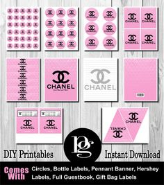 Chanel Chanel Party Chanel Birthday Chanel by PlatinumGraphics