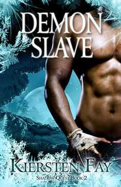 Book cover for the paranormal romance book, Demon Slave.